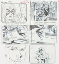 Animation Art:Production Drawing, Spider-Man Storyboard Drawings Group of 47 (Marvel,1994).... (Total: 47 Original Art)