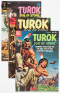 Silver Age (1956-1969):Adventure, Turok, Son of Stone File Copy Group of 6 (Dell, 1958-82) Condition: Average VF.... (Total: 6 Comic Books)