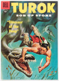 Silver Age (1956-1969):Adventure, Turok, Son of Stone #8 File Copy (Dell, 1957) Condition: VF....