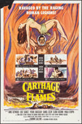"""Movie Posters:Exploitation, Carthage in Flames & Others Lot (Columbia, 1961). One Sheets(3) (27"""" X 41""""). Lobby Cards (2) (11"""" X 14"""") Exploitation.. ...(Total: 5 Items)"""