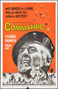 "Movie Posters:War, Commando & Others Lot (American International, 1964). OneSheets (2) (27"" X 41"") & Lobby Cards (8) (11"" X 14""). War.. ...(Total: 10 Items)"