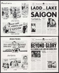 """Movie Posters:Drama, Saigon & Other Lot (Paramount, 1948). Pressbooks (2) (Multiple Pages, 12.5"""" X 15""""). Drama.. ... (Total: 2 Items)"""