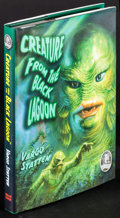 "Movie Posters:Horror, Creature from the Black Lagoon by John Russell Fearn (Dream Haven, 2011). Autographed Hardcover Book (192 Pages, 6.25"" X 9.2..."