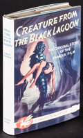 Movie Posters:Horror, Creature from the Black Lagoon by John Russell Fearn (Dragon Publishing, 1954). First Edition British Hardcover Book (176 Pa...