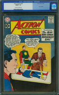 Silver Age (1956-1969):Superhero, Action Comics #281 (DC, 1961) CGC FN/VF 7.0 Off-white to whitepages.