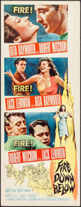 "Movie Posters:Adventure, Fire Down Below (Columbia, 1957). Insert (14"" X 36""). Adventure....."