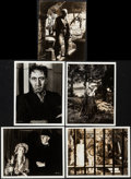 """Movie Posters:Horror, The Bride of Frankenstein (Universal, 1935). Photos (4) (8"""" X 10"""") & Trimmed Photo (7.5"""" X 9.5""""). Horror.. ... (Total: 5 Items)"""