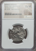 Ancients:Roman Provincial , Ancients: SYRIA. Antioch. Roman rule (after 65/4 BC). ARtetradrachm. NGC Choice VF....