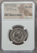 Ancients:Roman Provincial , Ancients: SYRIA. Antioch. Philip I (AD 244-249). BI tetradrachm.NGC Choice AU....