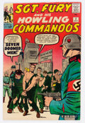 Silver Age (1956-1969):War, Sgt. Fury and His Howling Commandos #2 (Marvel, 1963) Condition: VG-....