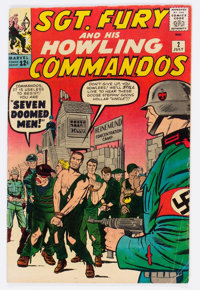 Sgt. Fury and His Howling Commandos #2 (Marvel, 1963) Condition: VG-