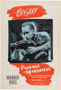 Miscellaneous Collectibles:General, 1944 Passage to Marseille Original One-Sheet Movie Poster....