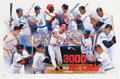 Baseball Collectibles:Others, 2000's 3,000 Hit Club Multi-Signed Poster. ...