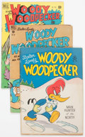 Golden Age (1938-1955):Cartoon Character, Woody Woodpecker Group of 33 (Dell, 1947-63) Condition: AverageVG.... (Total: 33 Comic Books)