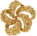 Estate Jewelry:Brooches - Pins, Gold Brooch. ...
