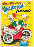 Golden Age (1938-1955):Cartoon Character, Dell Giant Comics: Vacation Parade #1 (Dell, 1950) Condition:VG....