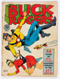 Golden Age (1938-1955):Science Fiction, Buck Rogers #2 (Eastern Color, 1941) Condition: GD....