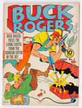 Golden Age (1938-1955):Science Fiction, Buck Rogers #3 (Eastern Color, 1941) Condition: VG-....