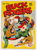 Golden Age (1938-1955):Science Fiction, Buck Rogers #5 (Eastern Color, 1943) Condition: VG-....