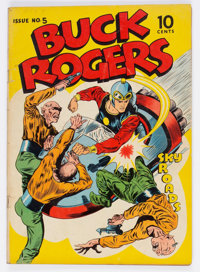 Buck Rogers #5 (Eastern Color, 1943) Condition: VG-