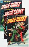 Golden Age (1938-1955):Science Fiction, Tom Corbett Space Cadet Related Group of 7 (Dell, 1952-54) Condition: Average VG/FN.... (Total: 7 Comic Books)