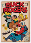 Golden Age (1938-1955):Science Fiction, Buck Rogers #6 (Eastern Color, 1943) Condition: VG....
