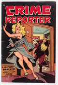Golden Age (1938-1955):Crime, Crime Reporter #2 (St. John, 1948) Condition: VG....