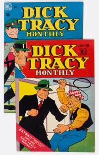 Dick Tracy Comics Monthly #1 and 5 Group (Harvey, 1948).... (Total: 2 Comic Books)