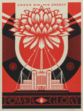 Prints, Shepard Fairey (b. 1970). Green Power, 2014. Screenprint in colors. 24 x 18 inches (61 x 45.7 cm) (sheet). Ed. 417/450. ...