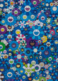 Prints:Contemporary, Takashi Murakami (b. 1962). An Homage to IKB 1957 C, 2012.Offset lithograph in colors on wove paper. 29 x 20-7/8 inches...