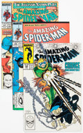Modern Age (1980-Present):Superhero, The Amazing Spider-Man Group of 23 (Marvel, 1988-89) Condition:Average NM-.... (Total: 23 Comic Books)