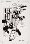 Original Comic Art:Splash Pages, Casey Jones Birds of Prey #51 Splash Page 14 Original Art(DC, 2003). ...