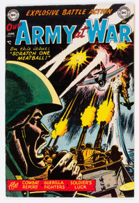 Our Army at War #11 (DC, 1953) Condition: FN/VF