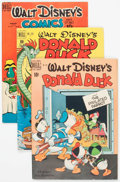 Golden Age (1938-1955):Cartoon Character, Donald Duck Group of 4 (Dell, 1950-51) Condition: Average VG.... (Total: 4 Comic Books)
