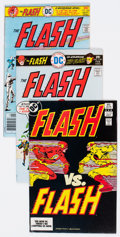 Bronze Age (1970-1979):Superhero, The Flash Group of 28 (DC, 1976-84) Condition: Average NM-.... (Total: 28 Comic Books)
