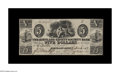 Obsoletes By State:Ohio, Kirtland, OH- The Kirtland Safety Society Bank $5 March 8, 1837 G8Rust 7 Wolka 1424-10. This denomination, along with the $...