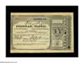 Miscellaneous:Postal Currency, Eldred, PA Postal Note. This piece, from the Slabaugh holdings,represents the third type of Postal Notes, as the design has...