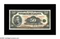 World Paper Money: , BC-14 $50 1935 About Uncirculated. The French text $50 is a rarityin all grades, and a major rarity in this state of preser...