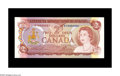 Canadian Currency: , BC-47a $2 1974 Gem Crisp Uncirculated. This piece bears serialnumber RY0000001....
