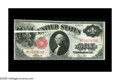 Error Notes:Large Size Errors, Fr. 38 $1 1917 Legal Tender. Very Fine. A huge gutter fold extends halfway into this piece, a rare error on any large size n...