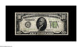 Error Notes:Inverted Reverses, Fr. 2004-D $10 1934 Light Green Seal Federal Reserve Note. VeryFine. Here is a tough early invert which is by no means comm...