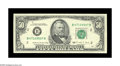 Error Notes:Inverted Reverses, Fr. 2123-B $50 1988 Federal Reserve Note. Choice AboutUncirculated. A little bit of handling is responsible for the gradeo...