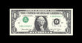 Error Notes:Inverted Third Printings, Fr. 1908-J $1 1974 Federal Reserve Note. Gem Crisp Uncirculated.This type 1 inverted third printing example is simply stunn...