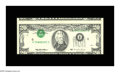 Error Notes:Inverted Third Printings, Fr. 2082-I $20 1995 Federal Reserve Note. About Uncirculated.Consecutive to the note above, and its twin in every respect s...