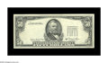 Error Notes:Third Printing on Reverse, Fr. 2121-D $50 1981A Federal Reserve Note. About Uncirculated. A nice example of this high denomination with the third print...