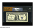 Error Notes:Mismatched Prefix Letters, Fr. 1619 $1 1957 Silver Certificate. RCGS Very Fine 30. Thiscertified note carries the A/Q prefix letter mismatch. As a cla...