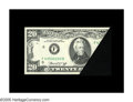 Error Notes:Foldovers, Fr. 2071-F $20 1974 Federal Reserve Note. Gem Crisp Uncirculated. Avery neat and dramatic foldover, with the folded segment...