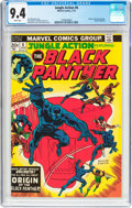 Bronze Age (1970-1979):Adventure, Jungle Action #8 Black Panther (Marvel, 1974) CGC NM 9.4 White pages....