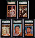 Baseball Cards:Sets, 1962 Topps Baseball Complete Set (598) With Nine Variations. ...