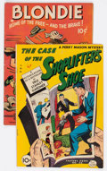 Golden Age (1938-1955):Crime, Feature Books #45 and 50 Group (David McKay Publications, 1946-47) Condition: Average VG+.... (Total: 2 Comic Books)